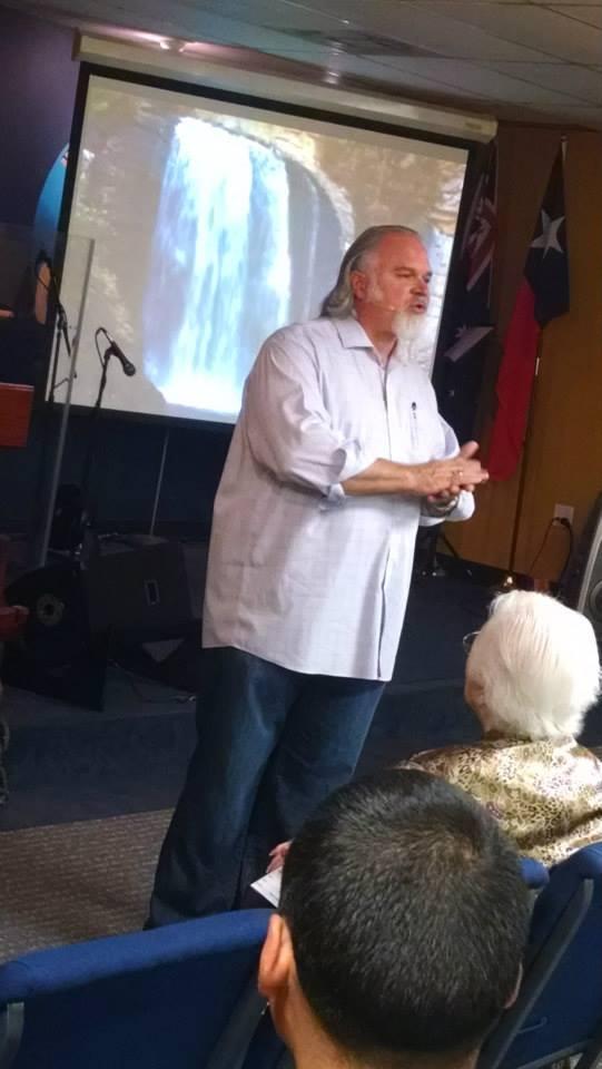Pastor Boyd bringing the Word