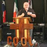 Pastor Boyd at work
