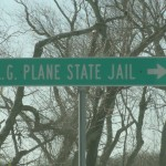 Plane State sign