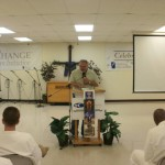 Pastor Boyd telling the truth of God's love