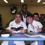 Inmates studying Maximized Manhood