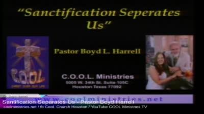Sanctification Separates Us