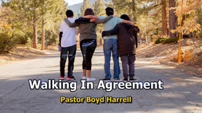 Walking in Agreement