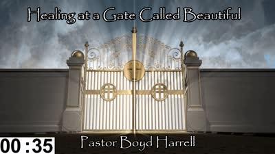 Healing At a Gate Called Beautiful