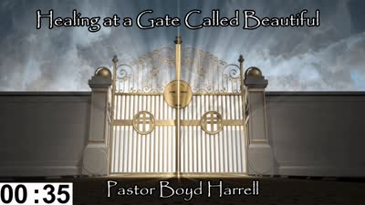 Healing At a Gate Called Beautiful