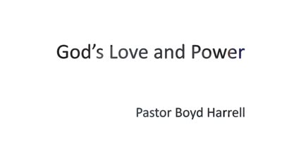 God's Love & Power