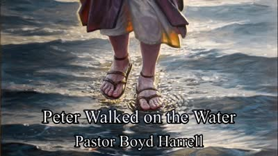 Peter Walked on the Water