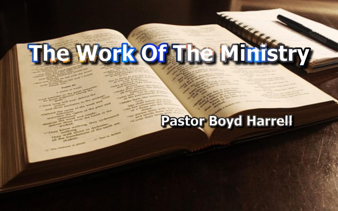 The Work of the Ministry